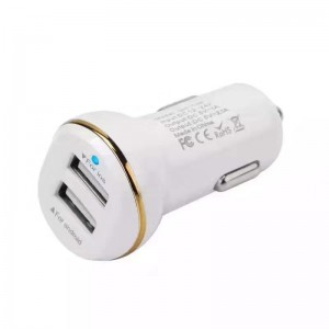 Dual Usb Car Charger  2.1A (1421)