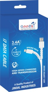 Apple iPhone 5/6/7/8/X Data Cable 1.5m(GT-548) 3.4A
